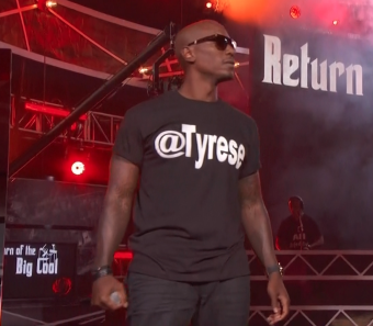 Tyrese at the 2011 BET Hip Hop Awards